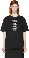 Ambush SSENSE Exclusive Black 'Raise' T-Shirt