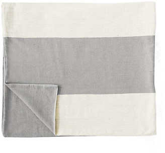 Bole Road Textiles Mamoosh Baby Blanket - Pumice gray/natural
