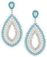 Natasha Accessories Statement Drop Earrings