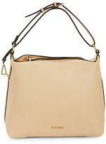 Calvin Klein Casuals Pebble Leather Hobo