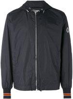 McQ by Alexander McQueen contrast stripe bomber jacket - men - Polyamide/Acetate/Viscose - 46