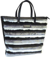 Adrienne Landau Faux Fur Shopping Tote (Women's)