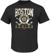 Majestic Men's Boston Bruins Vintage Five on Five T-Shirt