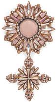 Gucci Crystal cockade brooch