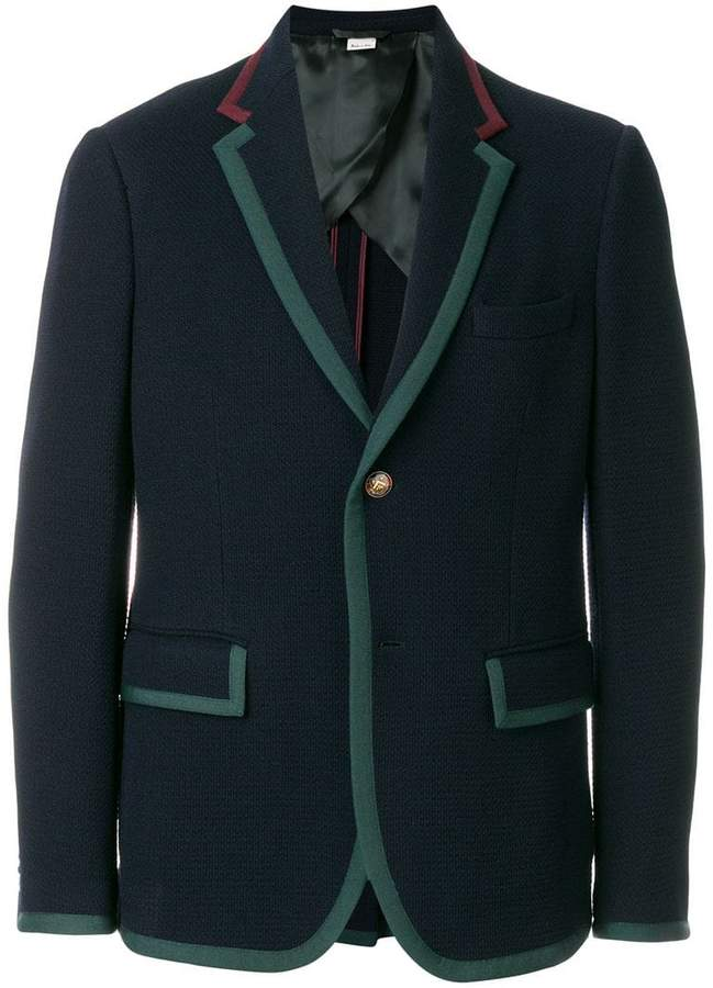 Gucci buttoned up longsleeved jacket