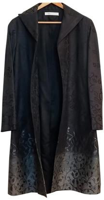 Emmanuelle Khanh Silver Wool Coats