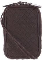 Bottega Veneta Intrecciato Leather Phone Holder