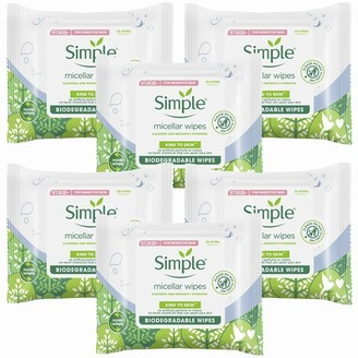 Simple Kind To Skin Micellar Cleansing Wipes 6 X 20 Wipes