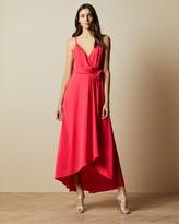 Ted Baker Sleeveless Wrap Dress