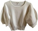 agnès b. Beige Cotton Knitwear for Women