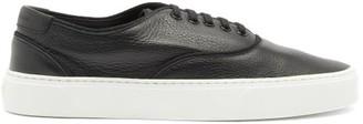 Saint Laurent Venice Leather Trainers - Black