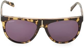 Balmain 57MM Aviator Sunglasses