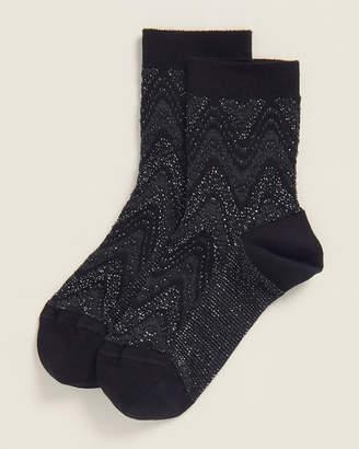 Missoni Multi-Wave Print Socks