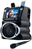"Karaoke Usa Karaoke USA Bluetooth Karaoke System with DVD, CD MP3-G & 7"" Color Screen"