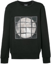 Christopher Raeburn patchwork moon sweatshirt - men - Cotton - L