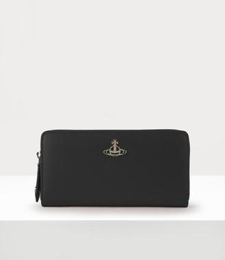 Vivienne Westwood Pimlico Zip Round Wallet Black