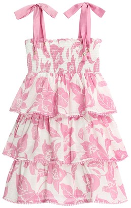 Zimmermann Bells Shirred Tiered Dress