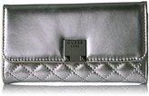 GUESS Rochelle Metallic Slim Clutch Wallet