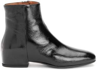 Aquatalia Ulyssa Patent Leather Ankle Boots