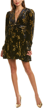Dodo Bar Or Anatalya Silk-Blend Mini Dress