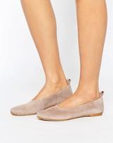 Vero Moda Suede Soft Ballerina Pumps