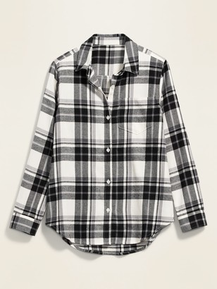 Old Navy Classic Plaid Flannel Shirt for Women