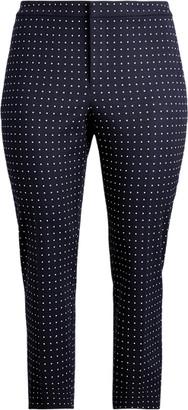 Ralph Lauren Polka-Dot Stretch Twill Trouser