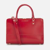 Lulu Guinness Women's Mini Daphne Polished Leather Crossbody Bag - Red