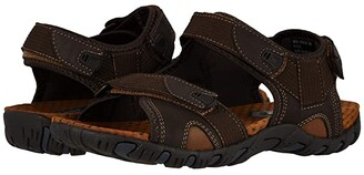 Nunn Bush Rio Bravo 3-Strap River Sandal (Black) Men's Sandals
