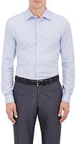 Giorgio Armani Men's Micro-Check Cotton Shirt