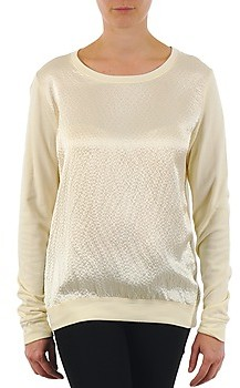 Majestic 237 women's Long Sleeve T-shirt in Beige
