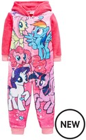 My Little Pony Girls Fleece Sleepsuit