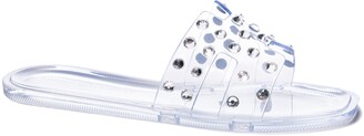 Chinese Laundry Transparent Slide Sandal