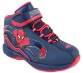 Marvel Toddler Boys' Amazing Spiderman Hi top Sneakers - Blue/Navy