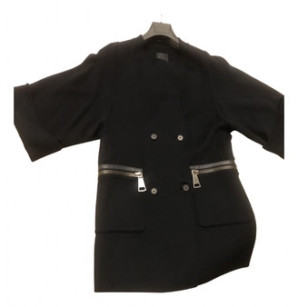 Hotel Particulier Black Wool Coats
