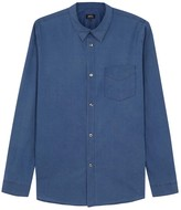 A.p.c. Saturday Blue Cotton Voile Shirt