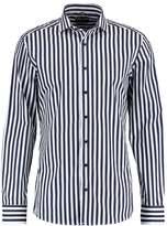 Eterna Slim Fit Formal Shirt Navy