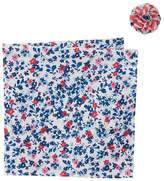 Original Penguin Tanner Floral Pocket Square & Lapel Pin Set