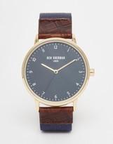 Ben Sherman Portobello Heritage Leather Watch