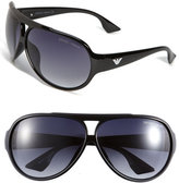 Emporio Armani Plastic Aviator Sunglasses