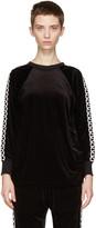 Junya Watanabe Black Velour Pullover