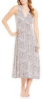 Oscar de la Renta Shirred Nightgown