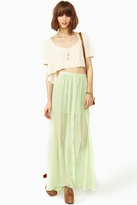 Nasty Gal Lost Spring Maxi Skirt
