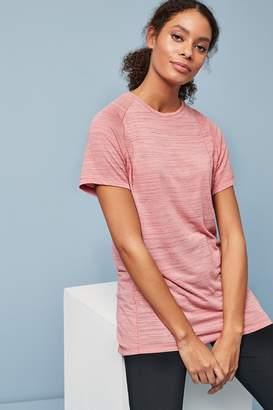 Next Womens Pink Short Sleeve Sports Tee - Pink