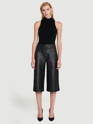 Frame Leather Culotte