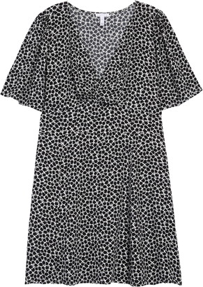 Leith Twist Front Mini Dress