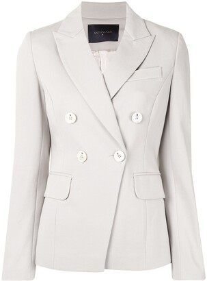 Lorena Antoniazzi Jersey Double-Breasted Jacket