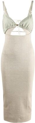 Jacquemus Knitted Midi Dress