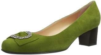 Celine Diavolezza Women's Court Shoes Green Grün (Olive)