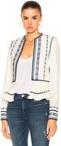Talitha Pleated Peplum Jacket
